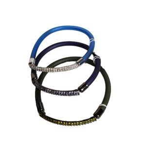 NWT! Lia Sophia Elastic Bracelet Set